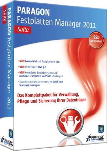 Paragon Festplatten Manager 2011 Suite