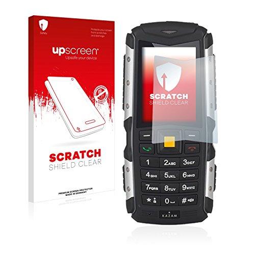 upscreen Schutzfolie kompatibel mit Kazam Life R5 - Kristallklar, Kratzschutz, Anti-Fingerprint