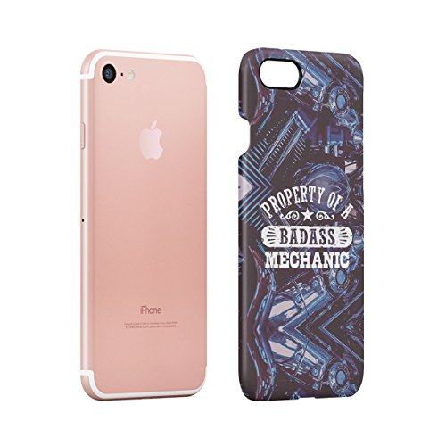 Trust Me I Am An Engineer Custodia Posteriore Sottile In Plastica Rigida Cover Per iPhone 7 & iPhone 8 Slim Fit Hard Case Cover Badass Mechanic