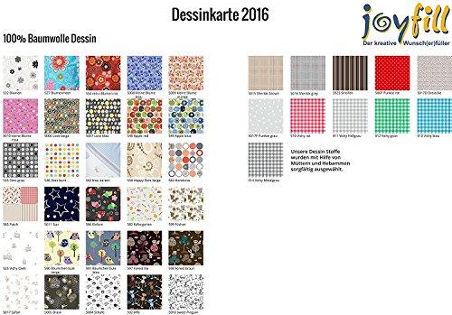 Joyfill Sitzsack 240L große Design-Auswahl – Made in Germany – stabil und frei von Giftstoffen (5011Star) - 2