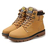 Zapatos Hombre Deportivos Running Zapatos De Invierno De Terciopelo para Hombres Antideslizantes Botas De Nieve Resistentes Al Desgaste para Exteriores