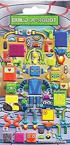 Paper Projects Proyectos de Papel Build-a-Robot Arte de los Cabritos Pegatinas