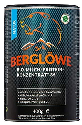 Bio Proteinpulver von BERGLÖWE: Bio Milchprotein Konzentrat natur (80% Casein 20% Whey) ... (Natur)