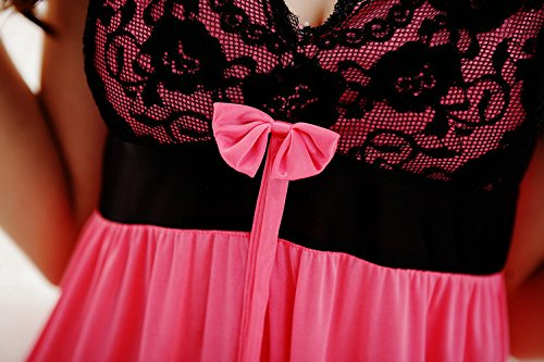YICHUN -  Camicia da notte  - Donna Pink