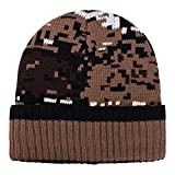 Frau Männer Deckel, Quaan Warm Ohr Schutz Häkeln Solide Farbe Mosaik Muster Häkeln Winter Plus SAMT Stricken Kappen