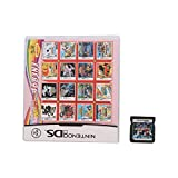 Gugutogo in 468/488/502/520 1 Multi-Spielkarte-Set für Nintendo DS 3DS Spielekonsole Schwarz 3