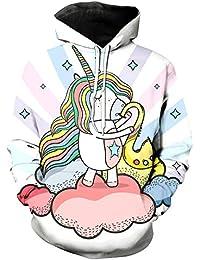 info for 153b2 bf1b3 Amazon.it: unicorno - Felpe con cappuccio / Felpe: Abbigliamento
