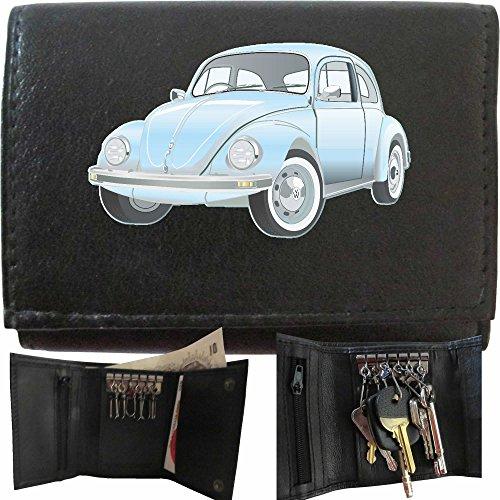 vw-beetle-light-blue-volkswagen-leather-wallet-mens-klassek-accessories-keyring