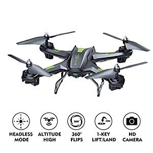 LBLA FPV Drone with Wifi Camera Live Video Headless Mode 2.4GHz 4 CH 6 Axis Gyro RTF RC Quadcopter, Compatible with 3D VR Headset by LBLA