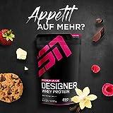 ESN Designer Whey, 2 x 1kg Beutel in allen Geschmacksrichtungen + Gratis ESN Shaker – 2kg direkt vom Hersteller 2 x Vanilla (Classic) - 7