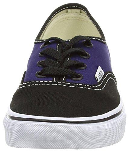 Vans - Authentic - Baskets Basses - Mixte Adulte Noir (2-Tone - Black/Patriot Blue)