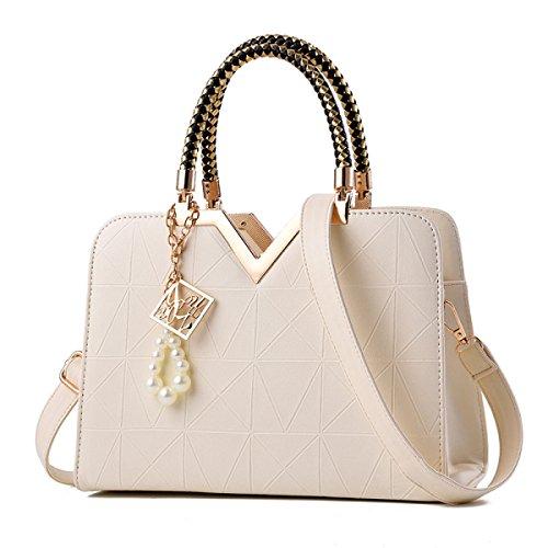 Damen Handtaschen Mode Damen Shells Koreanische Version Einfache Schultertasche Messenger Bag F