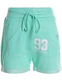 Kinder Mädchen Kurze Hose Bermuda Shorts Sommer Capri Pump Pants Jeans 20361