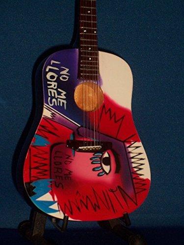 Mini Akustisch Gitarre COLDPLAY CHRIS MARTIN Anzeige GESCHENK