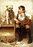 Posterlounge Cuadro de metacrilato 120 x 160 cm: Shoeshine Boy de John George Brown/Bridgeman Images