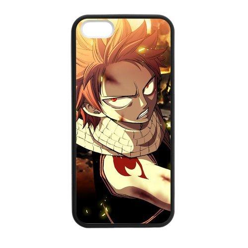 Coque pour iPhone 5S, étui TPU Soft Shell pour iPhone5, Apple iPhone 5s Hard Case, iPhone 5, Fairy Tail-Étui de protection Flip Coque pour iPhone 55S
