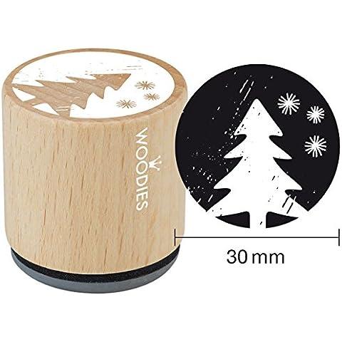 Woodies sello de goma montado 1,35