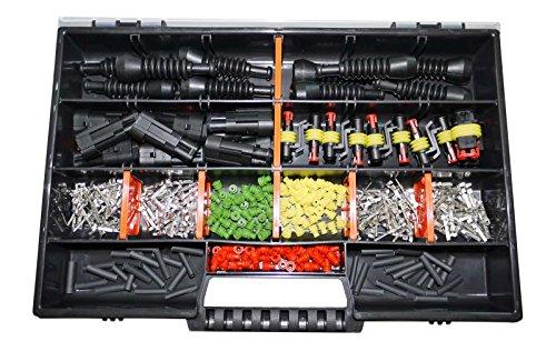 AMP Superseal 2-polig 0,35-1,5² Sortimentskasten Stecker KFZ Motorrad LKW (Motorrad Amp)