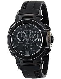 Tissot T0484173705700 T048.417.37.057.00 - Reloj para hombres, correa de goma color negro