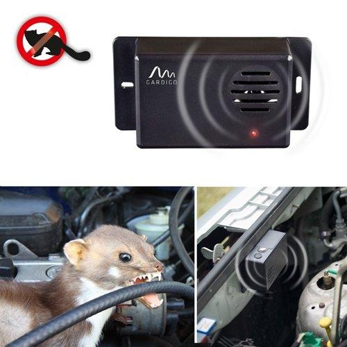Gardigo Marderabwehr Mobil, Marderschreck, Marderschutz, für Auto und Haus batteriebetrieben