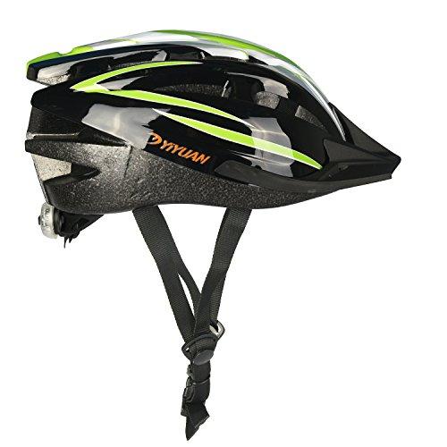 Yiyuan titolo: casco ciclo ciclismo casco adulto con luce a led