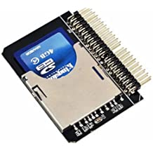 SD SDHC MMC Card to 2.5''44 Pin IDE MALE ADAPTER CONVERTER HIGH QUALITY