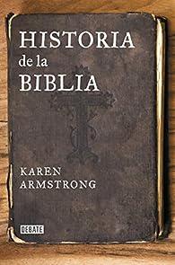Historia de la Biblia par Karen Armstrong