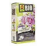 Compo Bio Engrais pour roses de longue durée avec laine de mouton, unique, purement Engrais organique pour roses et plantes à fleurs 750 kg