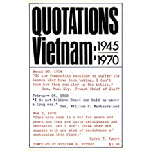 Quotations Vietnam: 1945-1970 (English Edition)