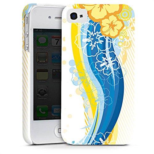 Apple iPhone X Silikon Hülle Case Schutzhülle Blumen Regenbogen bunt Premium Case glänzend