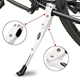 Best Bicycle Kickstands - Bicycle Kickstand,Adjustable Aluminum Alloy MTB Bike Stand With Review