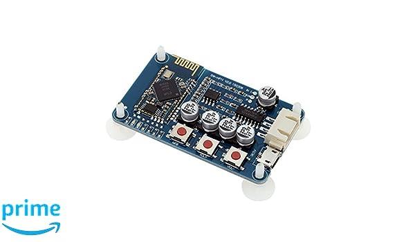 ARCELI Wireless Bluetooth 4.0 Audio Receiver Board Stereo Digitalverst/ärker Modul Mini USB 5V
