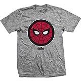 Rock Off Marvel Comics - Avengers Infinity War Spidey Icon Pop (T-Shirt Unisex TG. L)