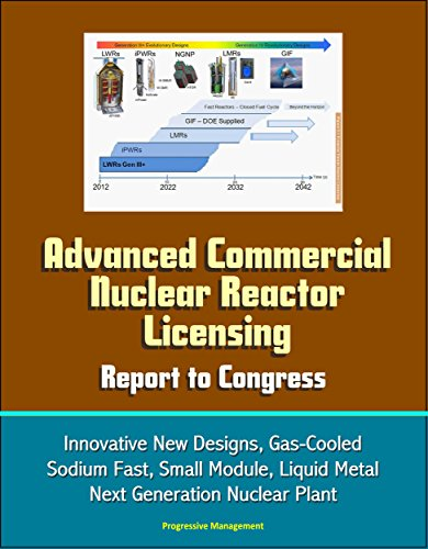 Advanced Commercial Nuclear Reactor Licensing, Report To Congress - Innovative New Designs, Gas-cooled, Sodium Fast, Small Module, Liquid Metal, Next Generation Nuclear Plant por U.s. Government