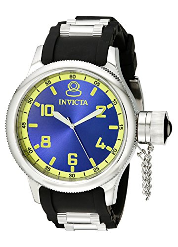 Invicta Men's Black Rubber Analogue Watch - 1434 image