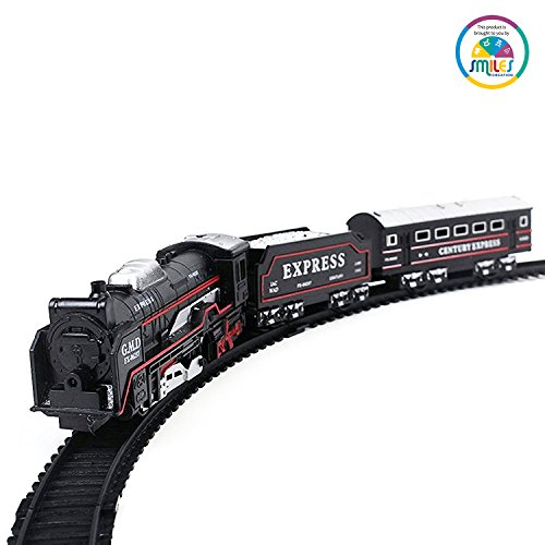 - 518vSbf 0GL - Smile Creations Battery Operated Train Set with Light Toy for Kids home - 518vSbf 0GL - Home