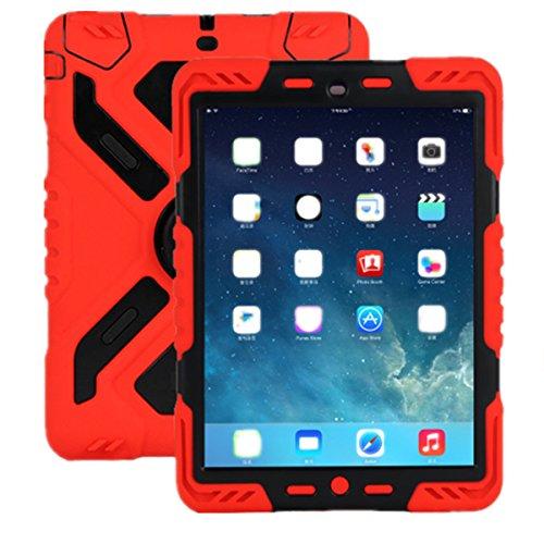 iPad 234Hülle, Meiya Neue Wasserdicht Stoßfest Schmutz Schnee Sand Proof Survivor Extreme Army Military Heavy Duty Cover Case Ständer für Apple iPad 234Kinder Geschenk 2/3/4Kinder Kid Full Schutz Light Gewicht iPad Fall