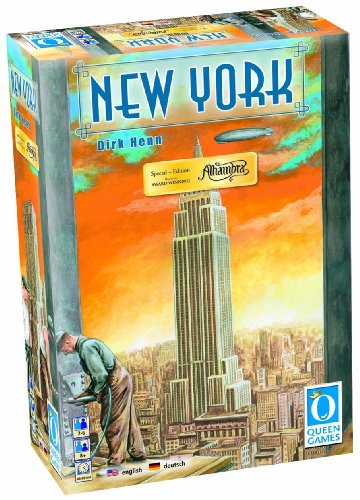 Queen Games 90221 - Alhambra Edition New York (6 - Sprachig) (Die Bauherren Brettspiel)