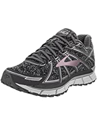 22485089680 Brooks Women s Adrenaline GTS 17 Metallic Charcoal Black Rose Gold Athletic  Shoe