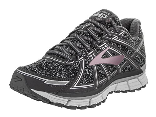Brooks Adrenaline GTS 17, Scarpe da Ginnastica Donna Metallic Charcoal/Black/Rose Gold