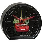 Cars - Reloj despertador (8 x 9 x 3,5 cm)
