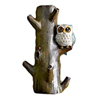 Creative Cloth Hook Clothes Hanger Decorative Hooks Resin Hook, Owl