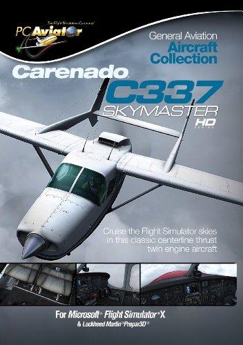 Preisvergleich Produktbild Flight Simulator X: Carenado C337 Skymaster (Add-On)