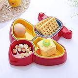 Baby Kinder Schüssel Kinder Essgeschirr, Flugzeug Form Kunststoff Geschirr Abendessen Schüssel, fall-proof und hot-proof