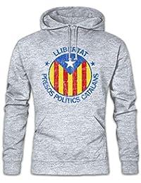 LLIBERTAT Catalonia Hoodie Sudadera con Capucha Sweatshirt – Tamaños ...