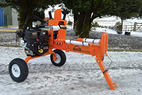 Rock Machinery 12 ton V-series petrol hydraulic log splitter