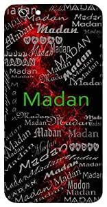 Madan (God Of Love, Cupid, Bee) Name & Sign Printed All over customize & Personalized!! Protective back cover for your Smart Phone : Apple iPhone 7