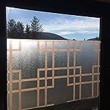 Vetro smerigliato pellicola Privacy Pellicola Finestra Schermo Pellicola decorativa parete schermo