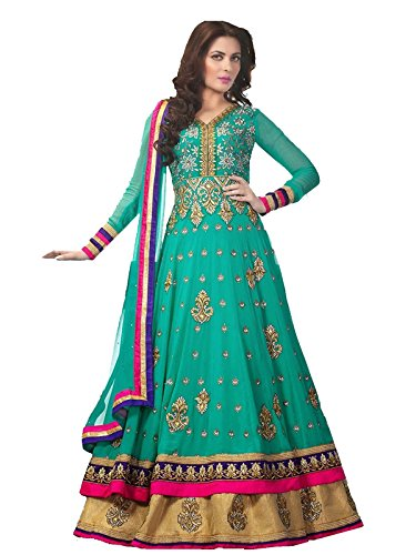 New Indian Stylish Designer Bollywood Party Anarkali Suit Salwar Kameez Dress Women.34