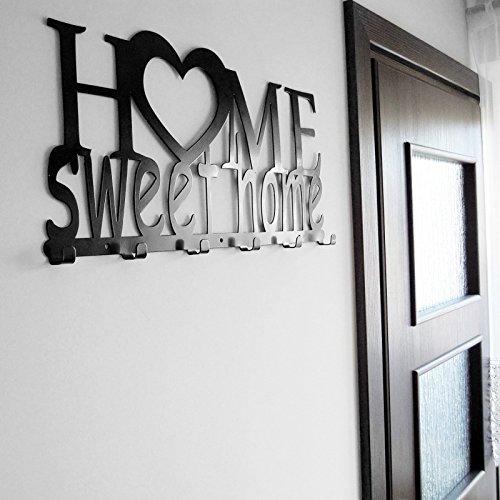 Pannello appendi chiavi da parete home sweet home ganci - Ikea appendiabiti da parete ...